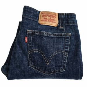 Levi's 525 High Rise Boot Cut Jeans   Size 12
